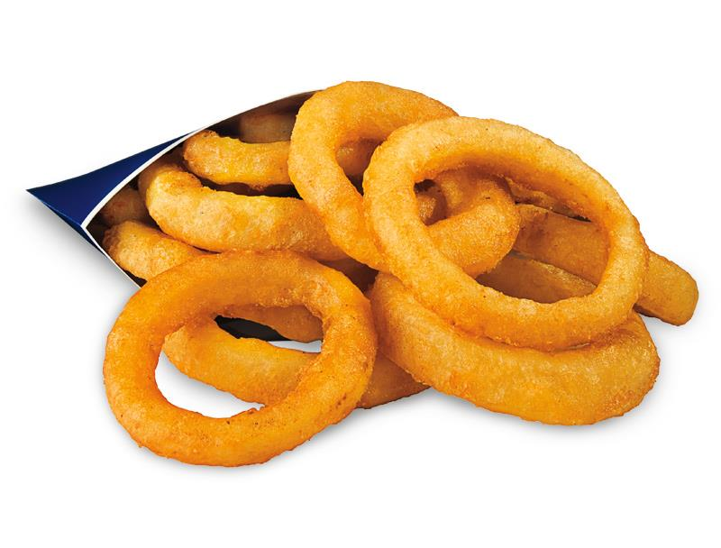 Value Onion Rings Calories