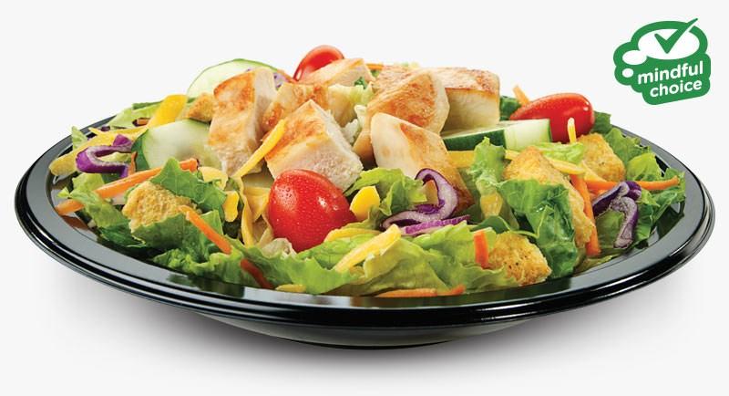 Garden Fresco With Grilled Chicken Salad Our Menu Culver S