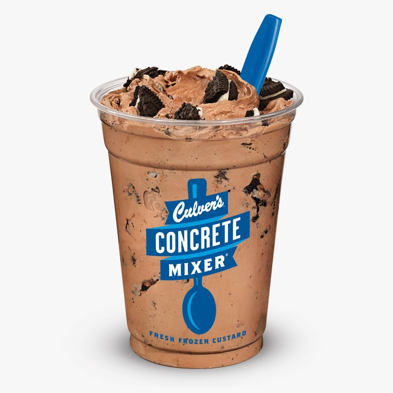 Chocolate Oreo Concrete Mixer, Regular
